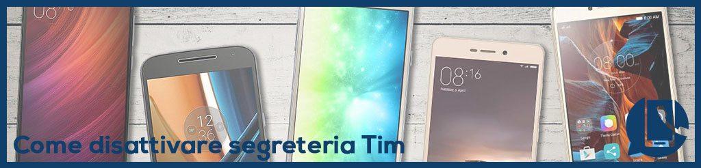 Come togliere segreteria TIM