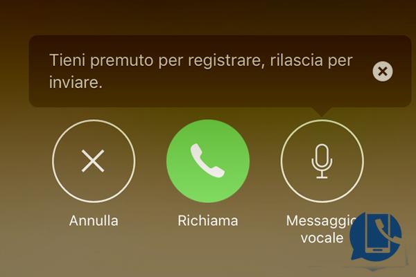 iphone segreteria disattivazione